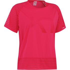 Kari Traa Maiken T-Shirt Women, shock